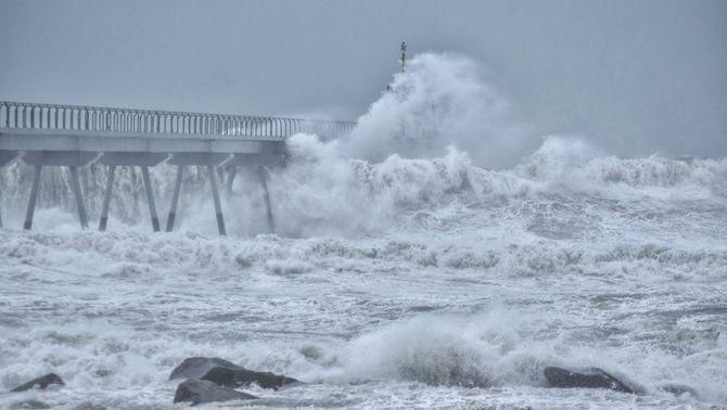 El minut a minut de les afectacions del pas del temporal Gloria