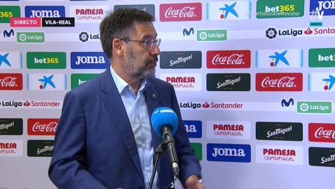 """Bartomeu carrega contra el VAR: """"Sempre afavoreix el mateix"""""""