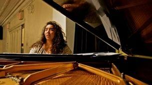 Retrat de la pianista i compositora Angelica Sánchez
