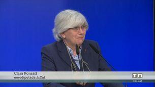 Els eurodiputats de Junts veuen persecució política en el suplicatori