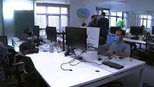 El teletreball obliga les empreses a repensar  les seves oficines