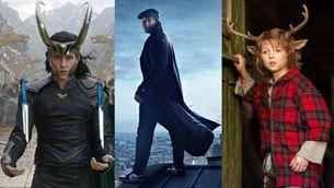 """Imatges de les sèries """"Lupin"""", """"Loki"""" i """"Sweet Tooth"""""""