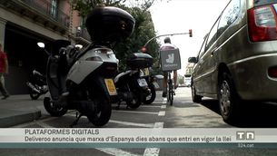 "Deliveroo diu que marxarà d'Espanya, dies abans que entri en vigor la ""llei rider"""