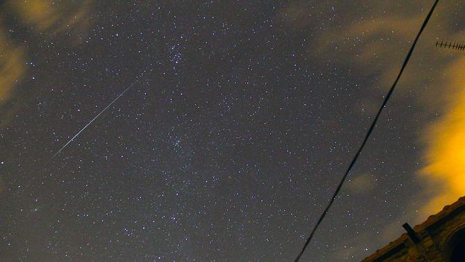 Nit de pluja de meteors, els Gemínids
