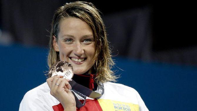 Mireia Belmonte guanya la medalla de bronze en la final dels 200 estils amb una remuntada estratosfèrica