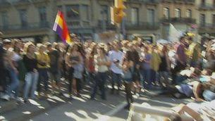 La manifestació contra la LOMCE de Barcelona