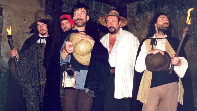 """Alguns dels protagonistes de """"La memòria dels Cargol"""""""