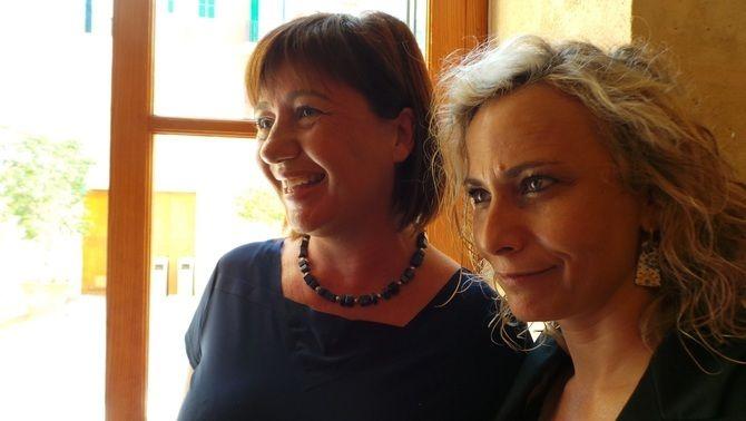Francina Armengol i Mònica Terribas