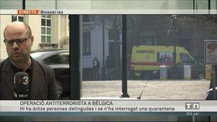 Operació antiterrorista a Bèlgica