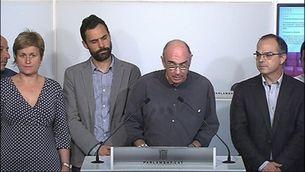 Reaccions polítiques a la petició de la Fiscalia
