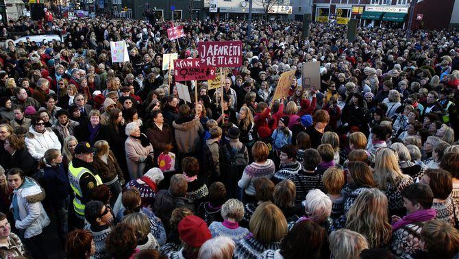 El Dia Lliure de les Dones d'Islàndia, la vaga que va paralitzar el país el 1975