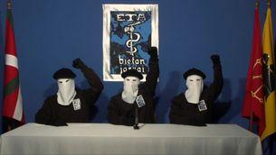 ETA demana perdó pel mal causat i es compromet a abandonar la violència