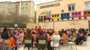 """La millor escola de l'any és una escola """"gueto"""" de Terrassa"""