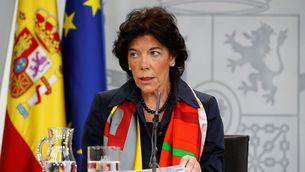 Isabel Celaá, ministra portaveu del govern espanyol (EFE)