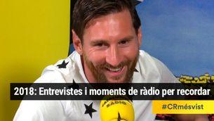 De Marta Rovira a Leo Messi i de Tor a Altsasu. Entrevistes i moments de ràdio del 2018