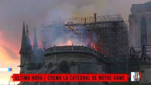 Crema la catedral de Notre-Dame