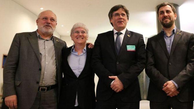 La Fiscalia demana a Llarena que reactivi les euroordres contra Comín, Puig i Ponsatí