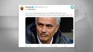 Mourinho, nou entrenador per la Roma