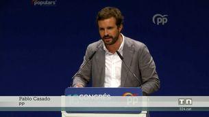 Casado carrega contra el català i diu que a les Balears es parla mallorquí, eivissenc i menorquí