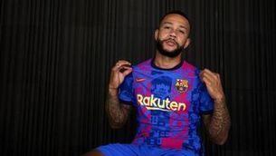 El Barça presenta la tercera equipació, exclusiva per a la Champions