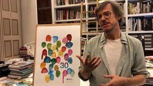 Jordi Labanda crea la samarreta dels 30 anys de La Marató