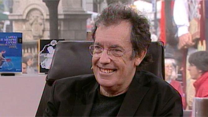 Miquel de Palol, entrevistat a TV3 el dia de Sant Jordi