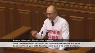 Ucraïna vota en contra de la sortida de Timoixenko