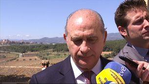 Fernández Díaz a Castellet i la Gornal on ha inaugurat un centre de la Unesco.