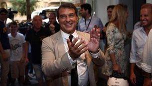 Joan Laporta presenta la seva seu