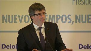Declaracions Puigdemont sobre impostos