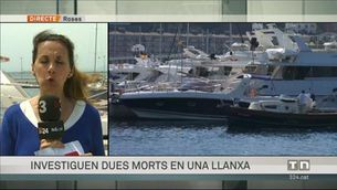 Investiguen la mort de dues persones en una barca al port de Roses