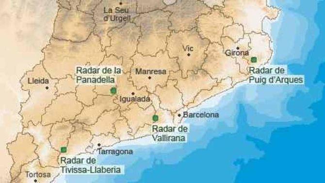 Història dels radars meteorològics a Catalunya
