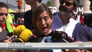 Govern i partits mostren fermesa en la defensa del referèndum i cedeixen el protagonisme a la ciutadania