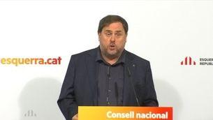 Oriol Junqueras referma el compromís amb la construcció de la república i demana unitat d'acció