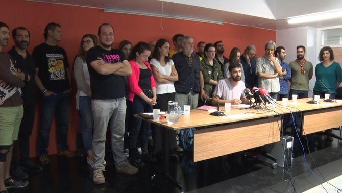 En Peu de Pau coordinarà les mobilitzacions pacífiques en defensa dels drets