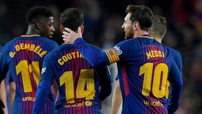 El Barça arriba a Budapest sense Messi, Ter Stegen ni Coutinho