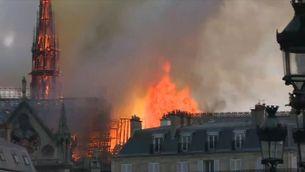 La Fiscalia de París investigarà les causes de l'incendi de Notre-Dame