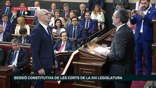 Raül Romeva promet la Constitució