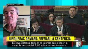 """El recurs de la defensa de Junqueras té una """"importància capital"""", segons Javier Pérez Royo"""