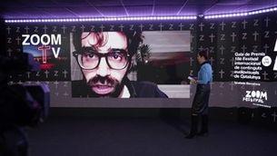 """David Verdaguer va recollir el Premi Zoom al millor format d'entreteniment per al programa """"Tabús"""""""