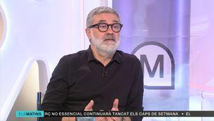 """Carles Riera (CUP-G): """"L'independentisme ha de recuperar la iniciativa i sortir de la paràlisi dels últims tres anys"""""""