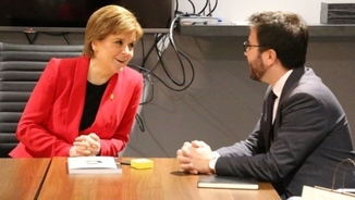 Imatge de:Independence campaigns in Scotland and Catalonia: siblings or distant relatives?