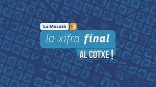 """La Marató puja """"Al cotxe!"""". La xifra final: prop de 14 milions d'euros per a la Covid-19"""