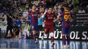 El Barça fa el primer cop en la semifinal contra el Palma Futsal (2-3)