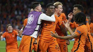Els Països Baixos s'imposen a Ucraïna en el partit amb més gols fins ara (3-2)
