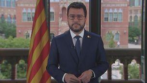 Missatge del President de la Generalitat - 10/09/2021