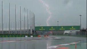 La pluja, protagonista a la 'qualy' de Sotxi al GP de Rússia