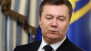 El president d'Ucraïna, Víktor Ianukóvitx.