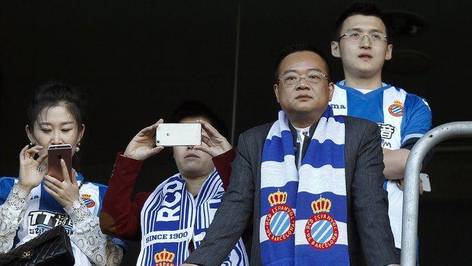 Chen Yansheng serà oficialment el màxim accionista de l'Espanyol dimecres