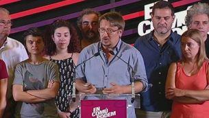 En Comú Podem consolida el triomf a Catalunya